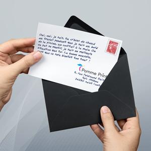 Carte De Correspondance 10 X 15 Cm