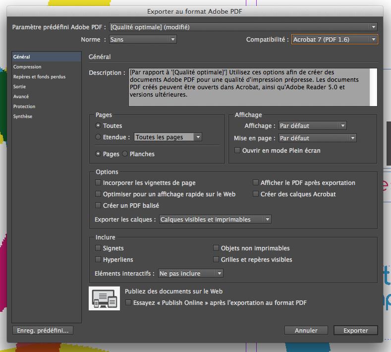 comment enregistrer indesign au format pdf      nalguaticma cf